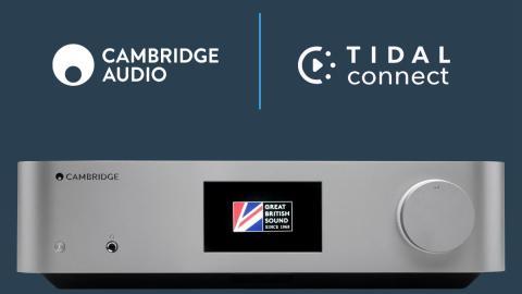 Cambridge Audio in TIDAL Connect